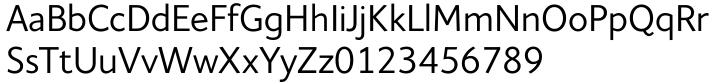Elisar DT Font Sample