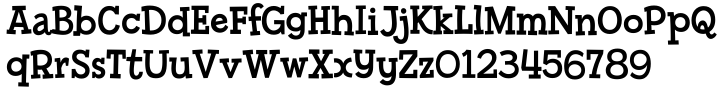 Billy Serif Font Sample