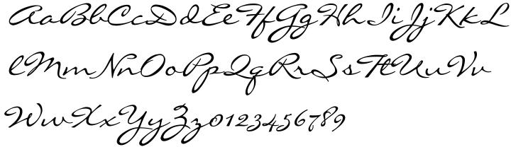 Liorah™ Font Sample