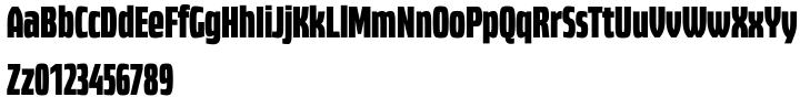 PTL Highbus™ Font Sample