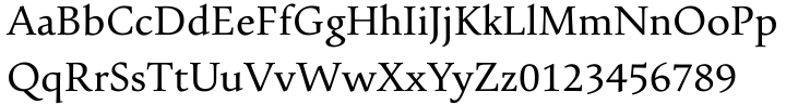 Pescadero Pro™ Font Sample