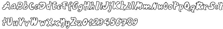 Mango Font Sample