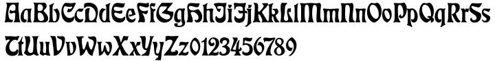 Eckmann® Font Sample