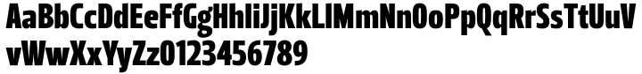 Leitura Headline Font Sample