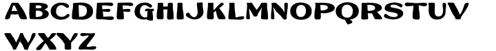 French Plug Font Sample
