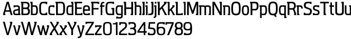 Aquarius™ Font Sample