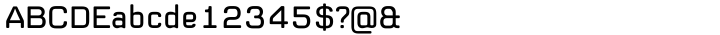 Supernormale™ Font Sample