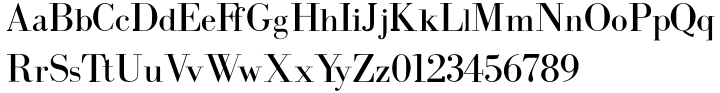 Intellecta Bodoned Font Sample
