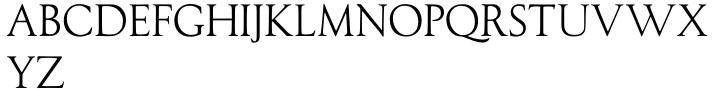 LTC Record Title Font Sample
