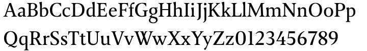 April Samuels Font Sample