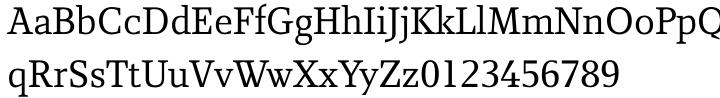 Rebecca Samuels Font Sample