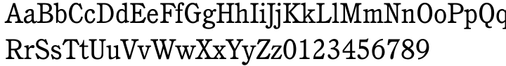 ITC Cushing™ Font Sample
