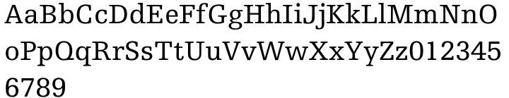 Egyptienne F™ Font Sample