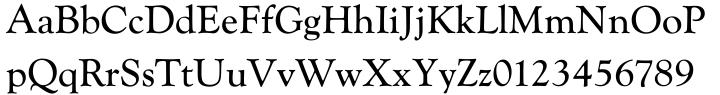 Goudy Catalogue™ Font Sample