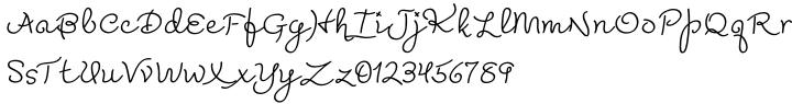Madeleine™ Font Sample