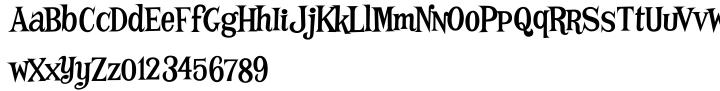Mother Hen AOE™ Font Sample