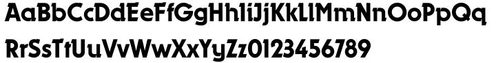Dynamo Shadow Font Sample