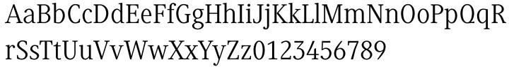 Generis Serif™ Font Sample