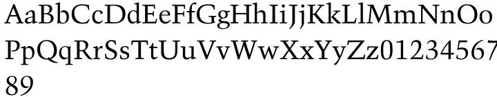 Trump Mediaeval Office™ Font Sample