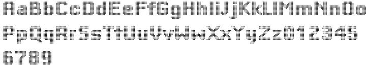 Yardmaster Font Sample