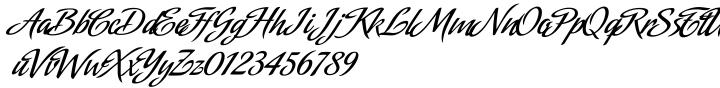 Amorinda Font Sample