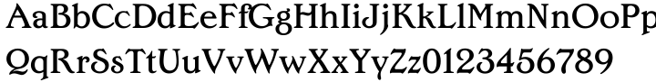 Edwardian Medium™ Font Sample