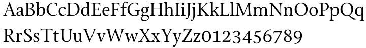 SFPL™ Font Sample