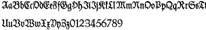 Schneider Buch Deutsch Font Sample