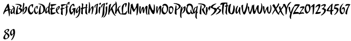 Candombe Pro Font Sample