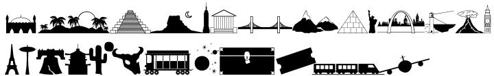Travelog JNL Font Sample