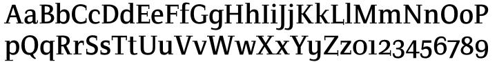 Crete Font Sample