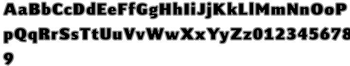 Midas Font Sample
