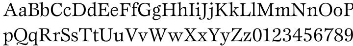 ITC Esprit® Font Sample