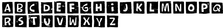 Whexjable Font Sample