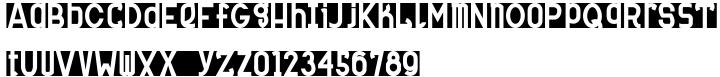 MauBo Flatline Font Sample