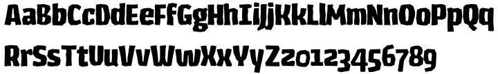 Los Lana Font Sample