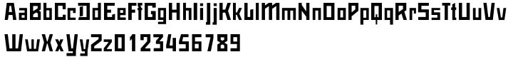 Teutonia Font Sample