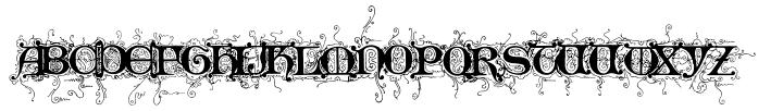 Like Gutemberg Caps Font Sample