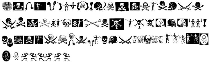 Pirates De Luxe Font Sample