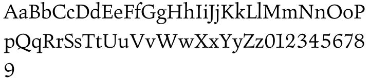 Figural™ Font Sample