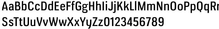 Veriox Font Sample