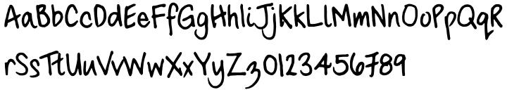 FG Carola Font Sample