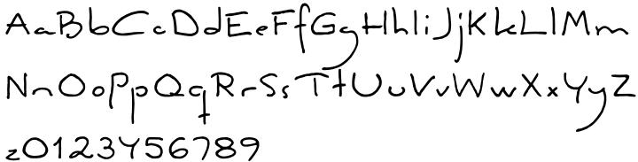 FG Ellinor Font Sample