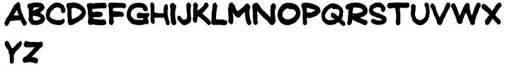 Detention JNL Font Sample