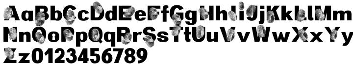 Detective Maurice Font Sample
