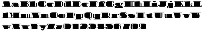Boldoni Font Sample