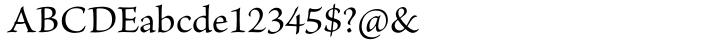 Brioso Pro™ Font Sample