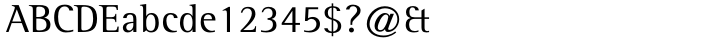Rotis Semi Serif® Font Sample