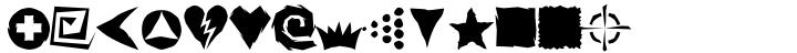 Altemus Roughcuts Font Sample
