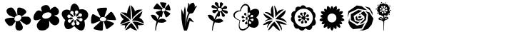 Altemus Flowers Font Sample